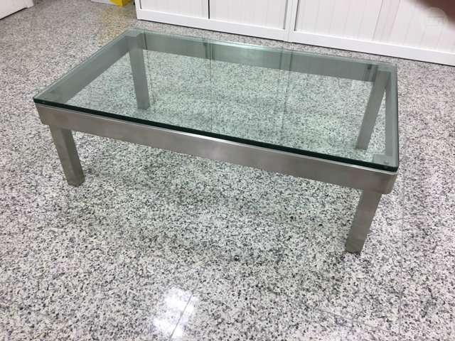 Mesas De Aluminio 0gdr Mil Anuncios Mesa De Centro De Aluminio Cepillado