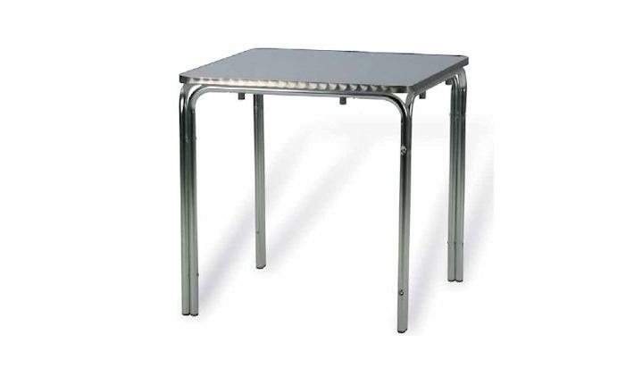 Mesas De Aluminio 3ldq Mesa Terraza Exterior Aluminio 70x70