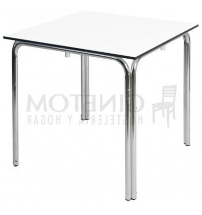 Mesas De Aluminio Nkde Mesas De Aluminio Para Terraza Hostelerà A Cuadrada