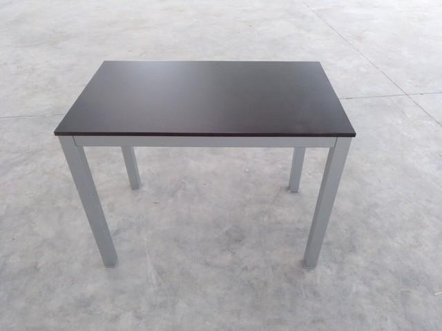 Mesas De Aluminio Nkde Mil Anuncios Mesas Fijas Aluminio Tapa Madera Negra