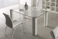 Mesas De Aluminio Thdr Mesa Para Edor En Cristal Transparente 14mm Patas De Aluminio