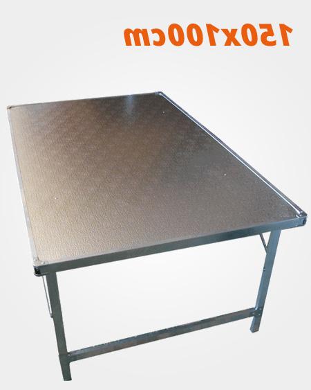 Mesas De Aluminio Txdf Mesa Plegable De Aluminio 150x100 Cm Mercamesa