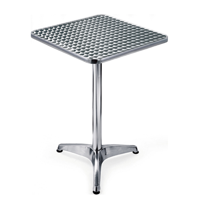 Mesas De Aluminio Zwdg Mesa De Aluminio Cuadrada Cubierta Acero Inox 60x60 Inoxchef Yb 503ts
