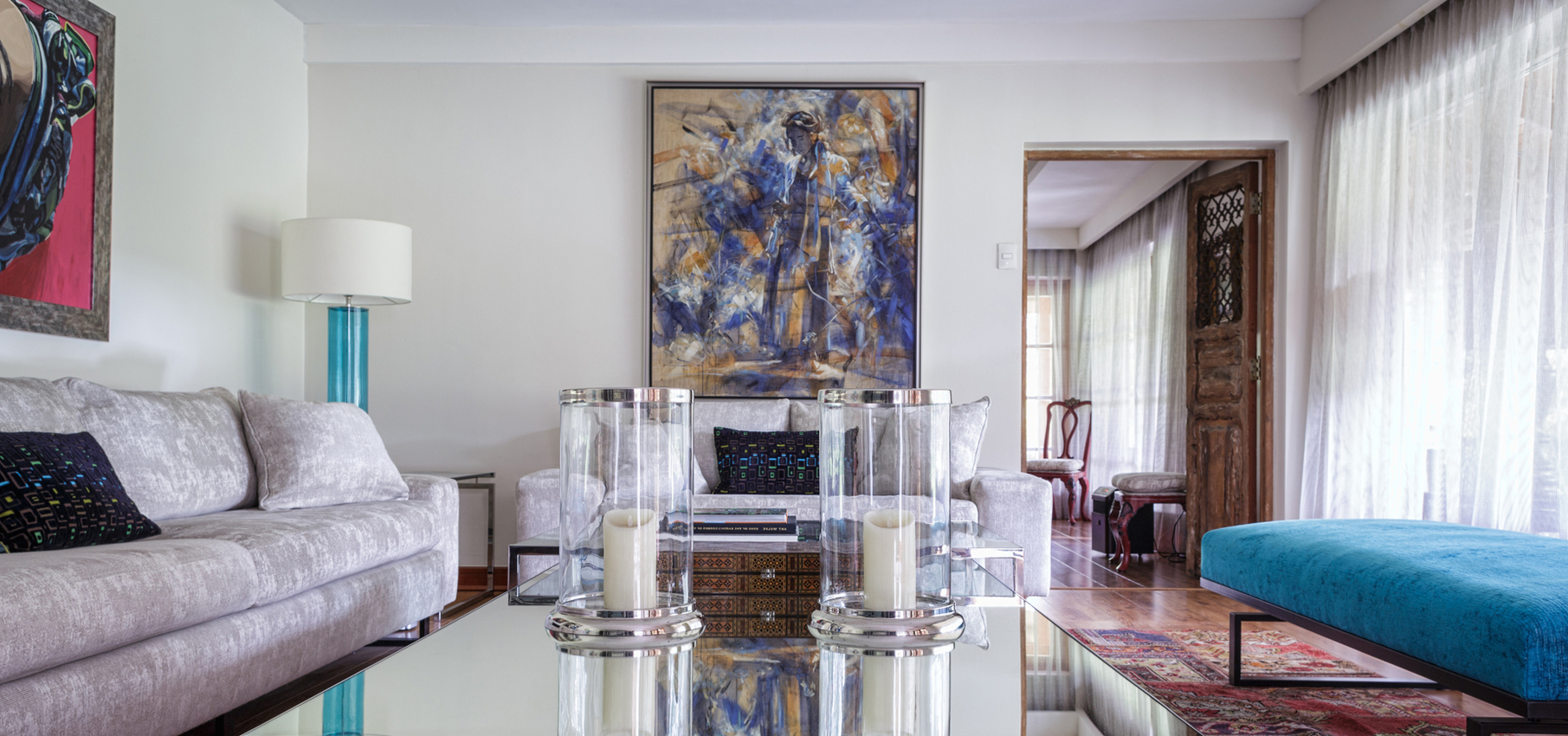 Mesas De Centro De Diseño Zwd9 Roomlab Gran Mesa De Centro Con Cubierta De Espejo En Living Con