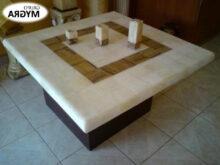 Mesas De Centro De Marmol Tldn Mesa De Centro De MÃ Rmol Granito Cuarzo Con Vidrio S 90 00 En