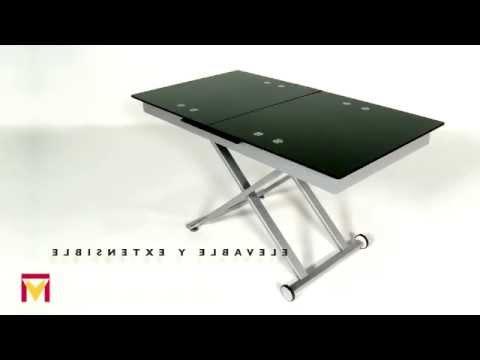 Mesas De Centro Elevables Conforama Qwdq Mesa De Centro Elevable Y Extensible Modelo Xert Moblerone Youtube