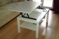 Mesas De Centro Elevables Ikea Txdf Ikea Hack Convertir La Mesa Lack En Mesa Elevable X4duros