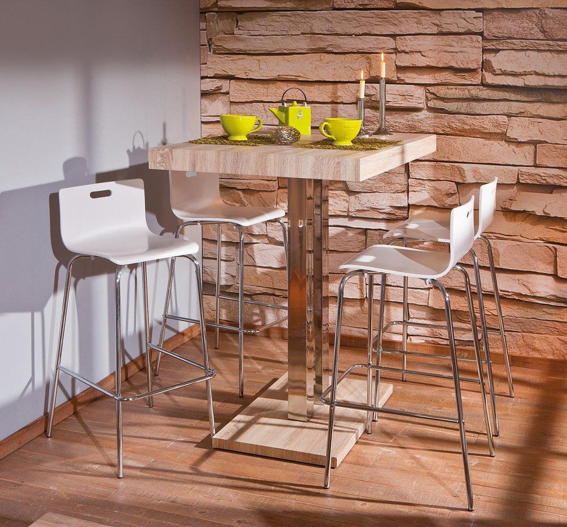 Mesas De Cocina Altas Irdz Mesa De Cocina Alta Con Pedestal Imà Genes Y Fotos