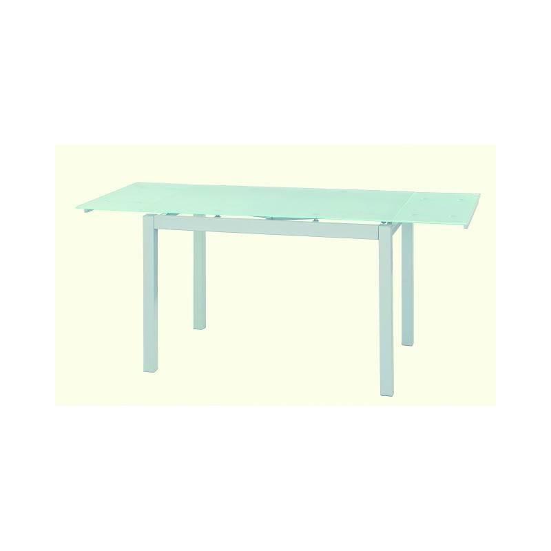 Mesas De Cocina Extensibles Baratas Q0d4 Mesa De Cocina Barata Extensible Y Gris Con Cristal Traslucido