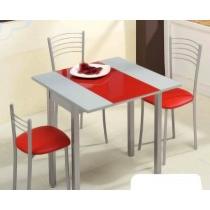 Mesas De Cocina Extensibles Baratas Qwdq Mesas De Cocina Abatibles Extensibles De Cristal Aluminio