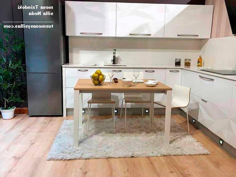 Mesas De Cocina Modernas Bqdd Mesa Cocina Moderna Extensible ...