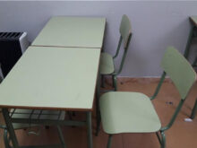 Mesas De Colegio Mndw Sillas Y Mesas Colegio De Segunda Mano Por 40 En Valencia En Wallapop