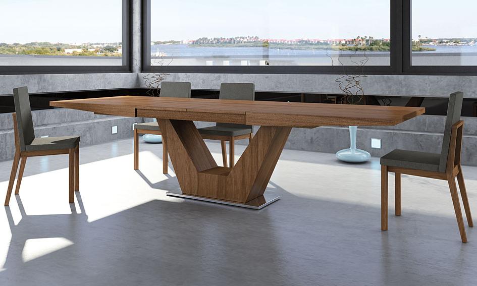 Mesas De Comedor 3id6 Mesa Edor Extensible Moderna Verona En Portobellostreet