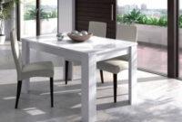 Mesas De Comedor Baratas Budm Mesa De Edor Blanca Extensible Barata Y Elegante
