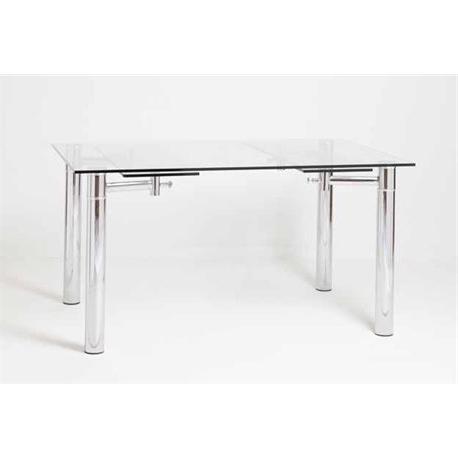 Mesas De Comedor De Cristal Extensibles 9fdy Moderna Mesa De Edor Extensible Modelo Clara Con Estructura De