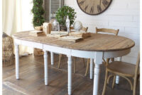 Mesas De Comedor Extensibles De Madera Rldj Prar Mesa Edor Extensible 20 20 Blanco Vintage Mueble