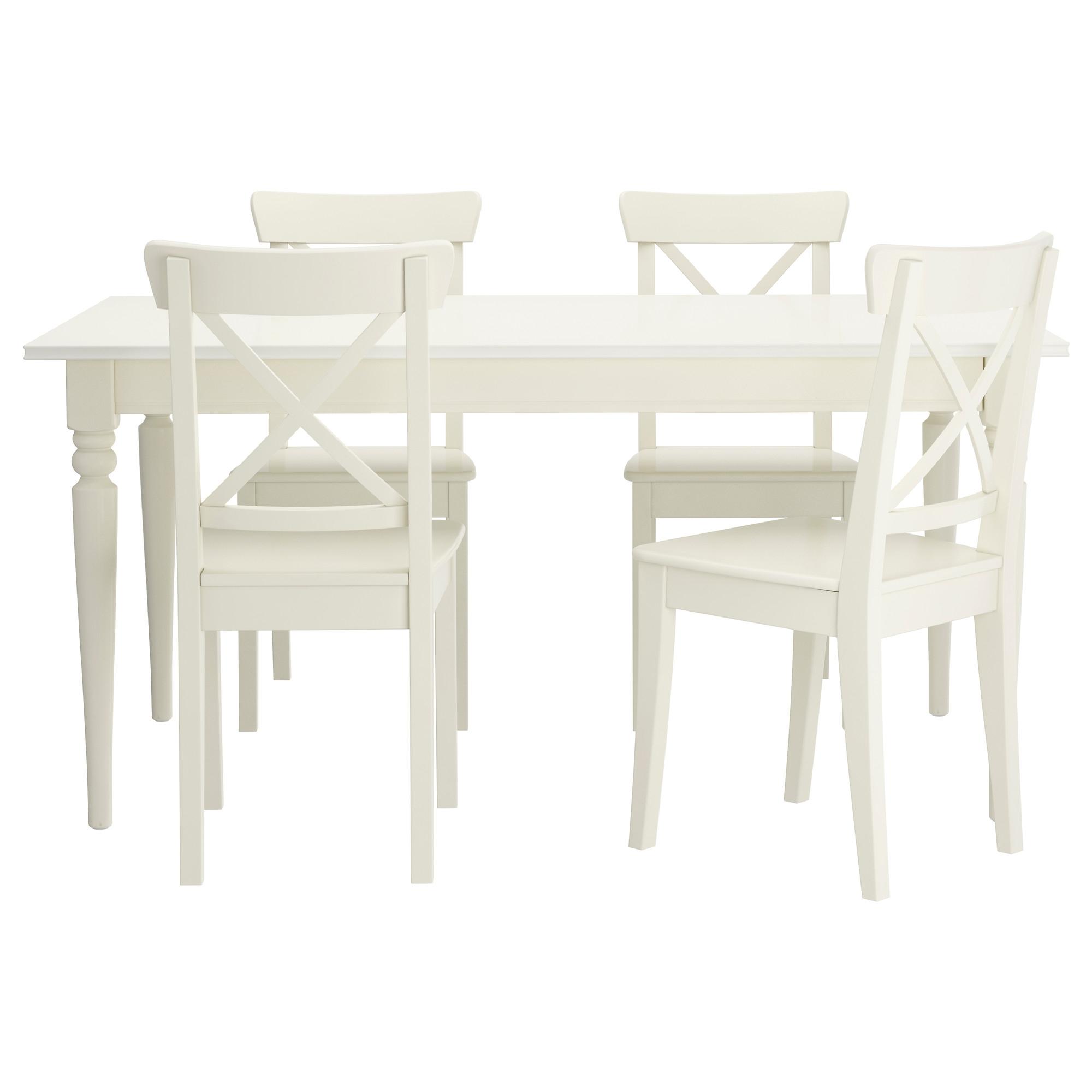Mesas De Comedor Ikea Mndw Ingatorp Mesa Con 4 Sillas
