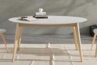 Mesas De Comedor Ovaladas Fmdf Mesa De Edor Retro Ovalada Con Extensible De 50 Cm