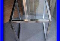 Mesas De Cristal Baratas 9ddf Practica Y Barata Mesa De Aluminio Con Cristal Prar Mesas