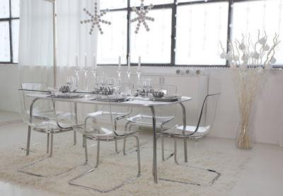 Mesas De Cristal Ikea Whdr Esta Navidad En Tu Mesa Velas Plumas Y Cristal Actualidad