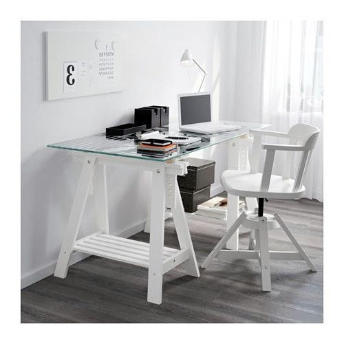 Mesas De Cristal Ikea Zwd9 Glasholm Finnvard Mesa Vidrio Motivo Oval Blanco Ikea New