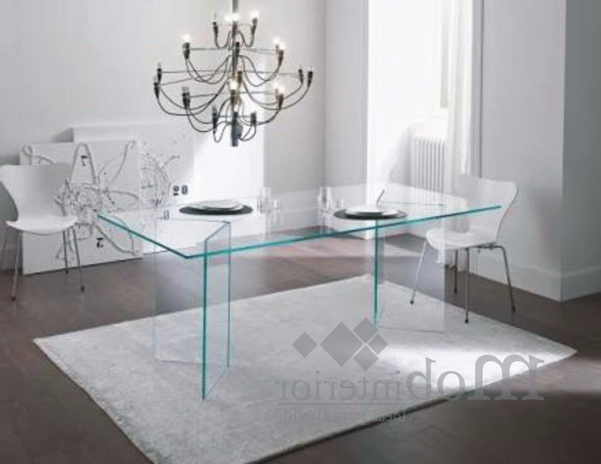 Mesas De Cristal Para Comedor Jxdu Mesa Edor De Cristal Templado Para 8 Personas Mobinterior