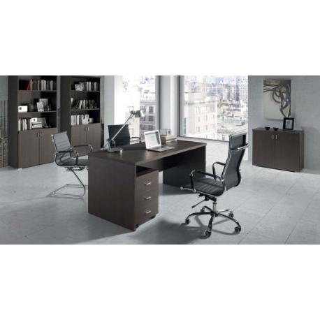 Mesas De Despacho Baratas Bqdd Mesa Oficina O Despacho 3 Colores Color Nogal Cambrian