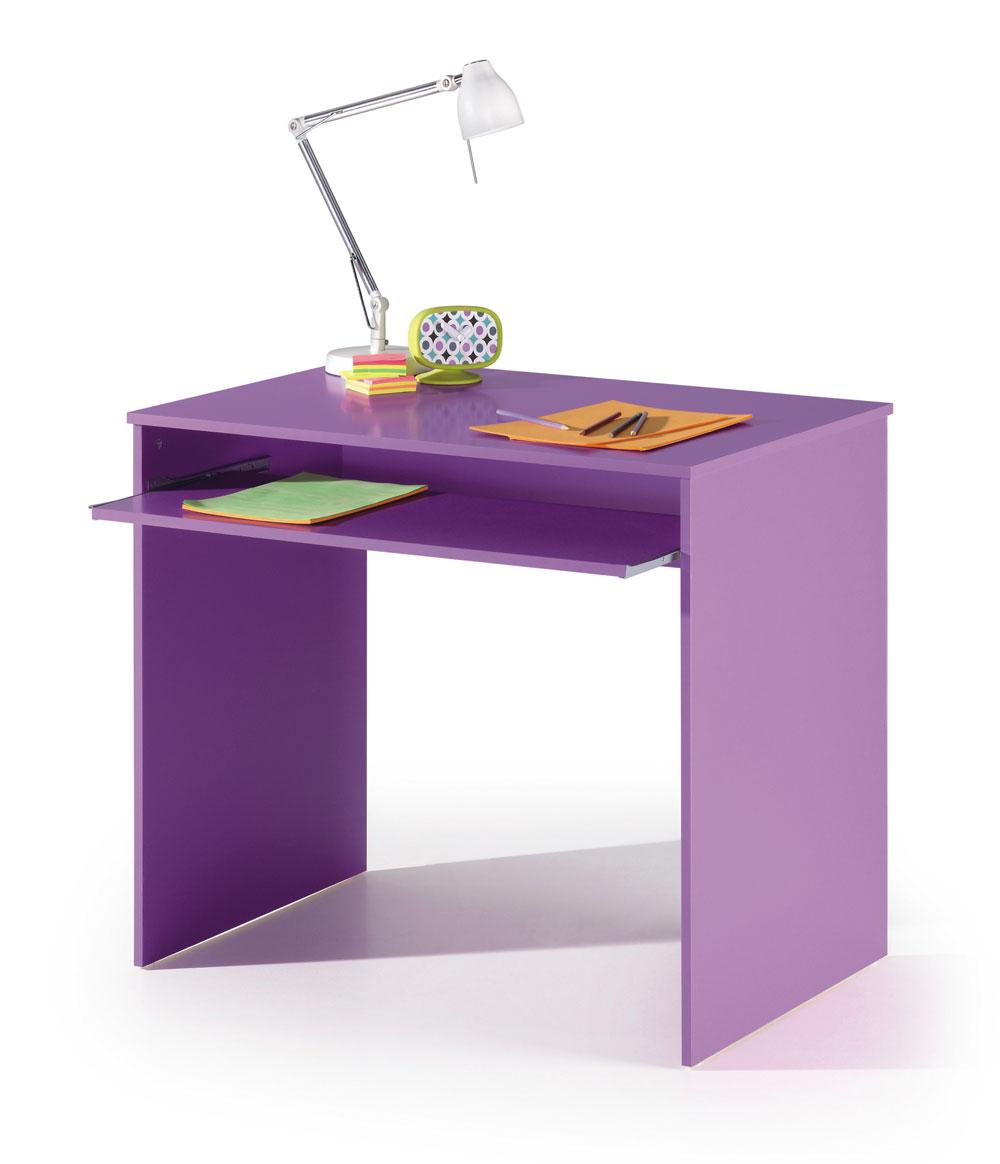 Mesas De Despacho Baratas Gdd0 Mesa ordenador Estudiante Color Lila Mesas De ordenador Estudiante