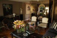 Mesas De Diseño De Cristal 0gdr Roomlab Living Con Biombo De Espejo Decorado Por Angelo Sandoval