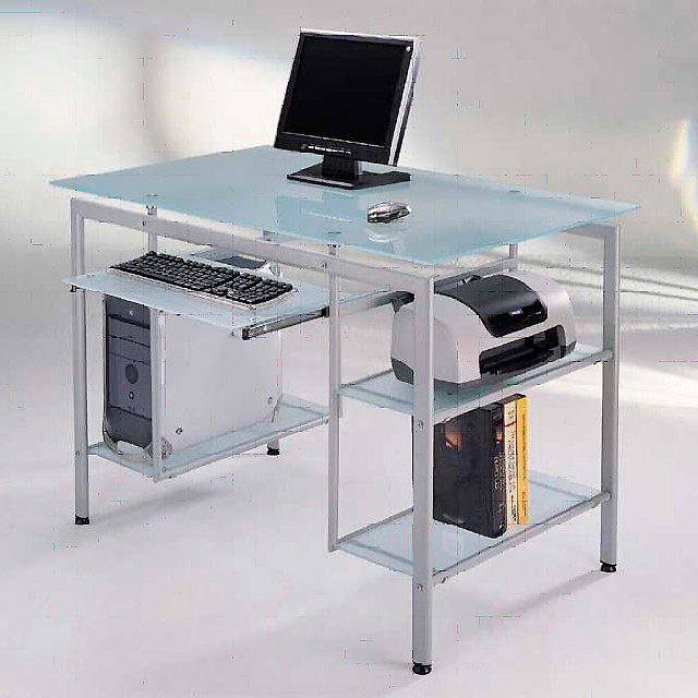 Mesas De Estudio De Cristal Nkde Mesa Para Estudio ordenador Closet norte