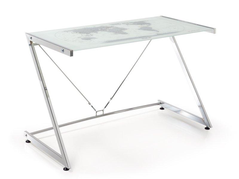 Mesas De Estudio De Cristal S1du Escritorio Para ordenador Mesa Mueble De ordenador En Cristal