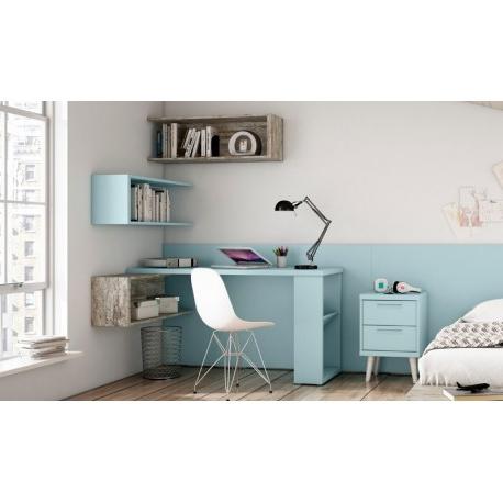 Mesas De Estudio Q5df Mesa De Estudio Y Estantes Mat Prar Mesas De Estudio En Muebles Rey