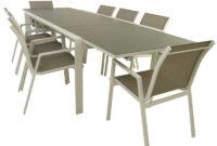 Mesas De Exterior T8dj Conjunto Para Exterior Mesa Extensible Y 8 Sillones Apilables Laver