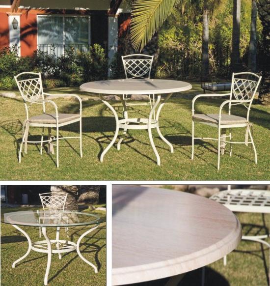 Mesas De Jardin Baratas 3id6 Muebles De forja Jayso Para Exterior Coleccià N Alicante