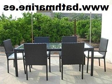 Mesas De Jardin Baratas Dddy Mesas Rattan Sintetico Ratan Jardin Terraza Exterior Fibra Baratas