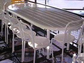 Mesas De Jardin De Plastico 8ydm Mesas De Resina Circulares Redondas U Octogonales