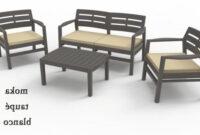 Mesas De Jardin De Plastico Rldj Muebles De Resina