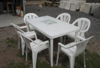 Mesas De Jardin De Plastico S5d8 Mesa Rectangular 6 Sillones Plasticos Para Jardin 4 269 00 En
