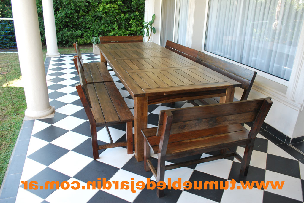 Mesas De Madera Para Jardin S1du Muebles Para Jardin Mesas De Madera