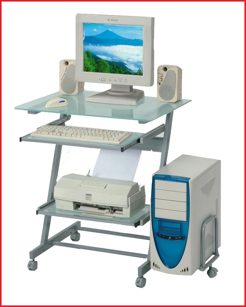 Mesas De ordenador Baratas E9dx Mesas De ordenador Baratas Mesa ordenador Gris Aluminio