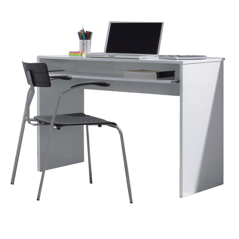 Mesas De ordenador Baratas Etdg Mesa ordenador Estudiante En Color Blanco Brillo