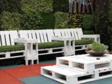 Mesas De Palets Para Jardin