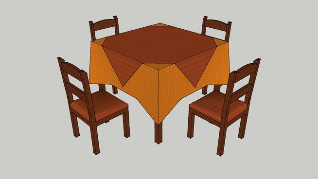 Mesas De Restaurante Dddy Mesa Restaurante 3d Warehouse