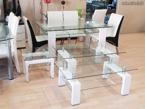 Mesas De Salon De Cristal Rldj Mesa De Salà N Edor En Cristal Templado 150cm