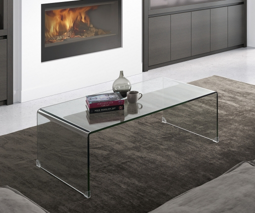 Mesas De Salon De Cristal Zwd9 Mesa De Centro De Diseà O Cristal Transparente Para Edor O Salà N