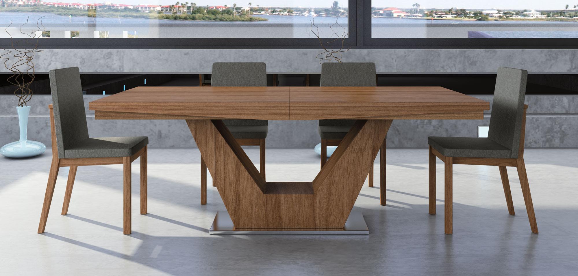 Mesas De Salon Modernas 8ydm Mesa Edor Extensible Moderna Verona En Portobellostreet