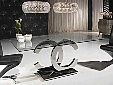 Mesas De Salon Modernas T8dj Novedades Decoracion Mesas Edor Salon Estilo Moderno Youtube
