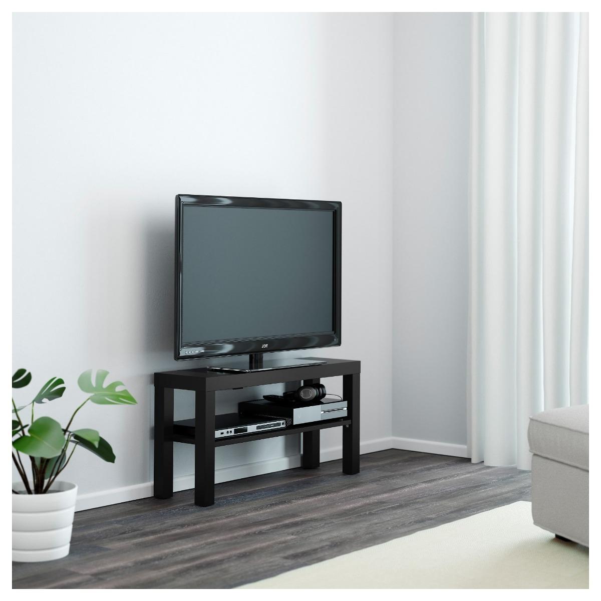 Mesas De Television Ikea Irdz Mesa De Tv Ikea Color Negro 950 00 En Mercado Libre