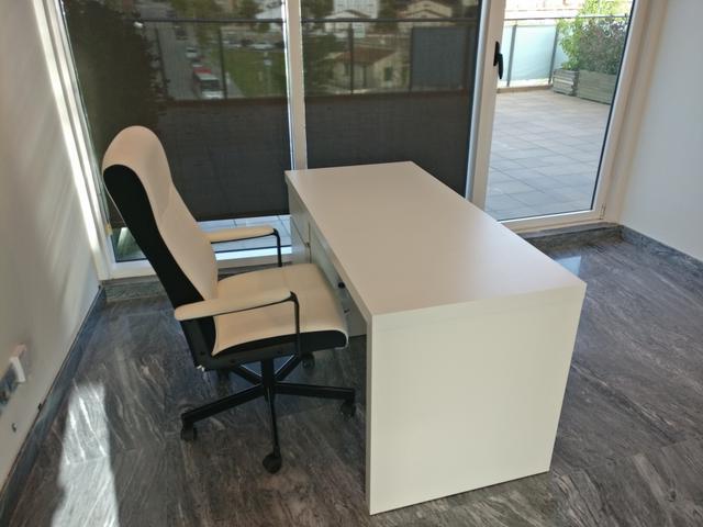 Mesas Despacho Ikea Irdz Mesa Oficina Ikea Malm De Segunda Mano Por 99 En Sabadell En Wallapop