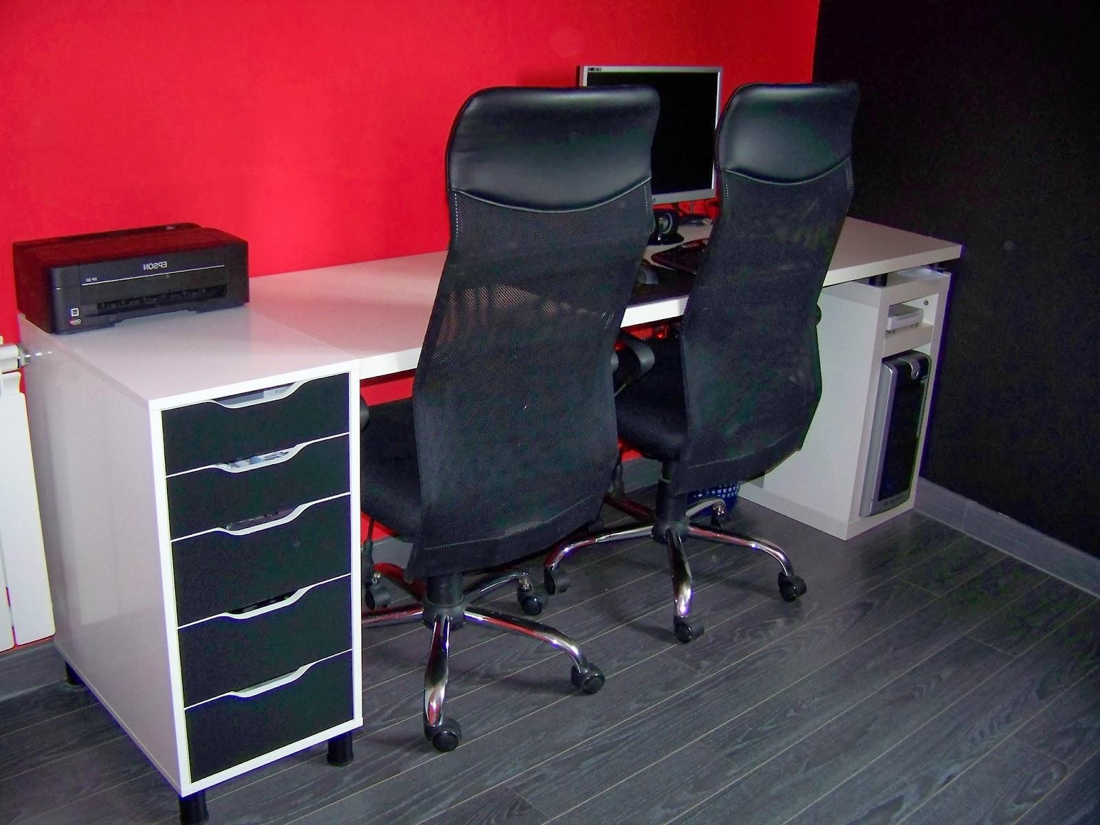 Mesas Despacho Ikea Irdz Una Mesa De Despacho Muy Bien Aprovechada Mi Llave Allen
